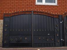 Как выбрать металлические ворота?